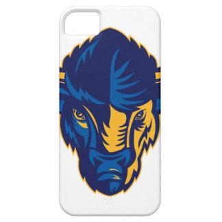 American Bison Head Retro iPhone 5 Cover