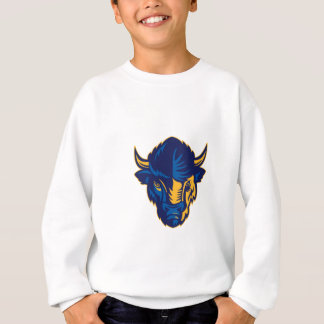 American Bison Head Retro Sweatshirt