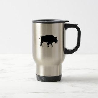 American Bison Icon Travel Mug