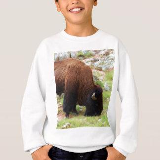 American Bison Painting Sweatshirt