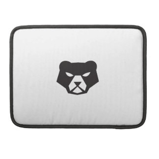 American Black Bear Head Retro Sleeve For MacBook Pro