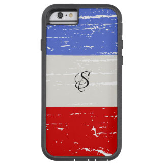 American Blocks Solid Monogram Tough Xtreme iPhone 6 Case