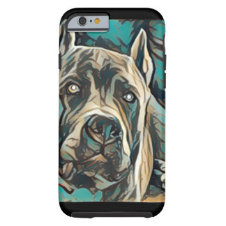 American Blue Pit Bull Tough iPhone 6 Case
