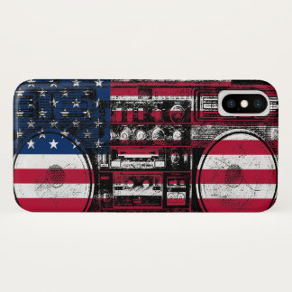 american boombox iPhone x case