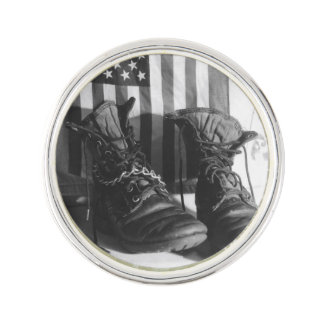 American Boots Lapel Pin