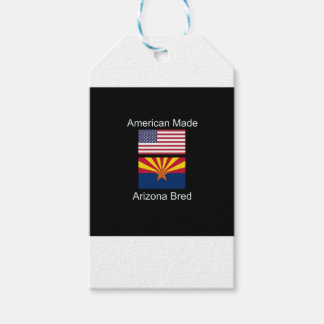 """""""American Born..Arizona Bred"""" Flags and Patriotism Pack Of Gift Tags"""