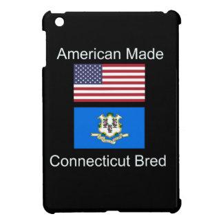 """""""American Born..Connecticut Bred"""" Flag Design iPad Mini Cover"""