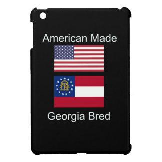 """American Born..Georgia Bred"" Flags and Patriotism iPad Mini Cover"