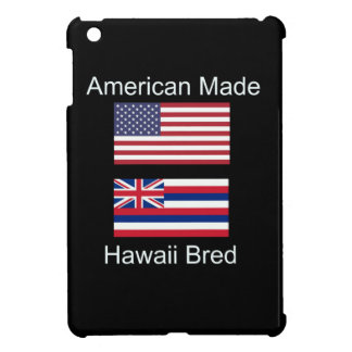 """American Born..Hawaii Bred"" Flags and Patriotism iPad Mini Cases"