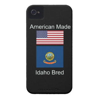 """American Born..Idaho Bred"" Flags and Patriotism iPhone 4 Cases"