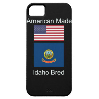"""American Born..Idaho Bred"" Flags and Patriotism iPhone 5 Covers"