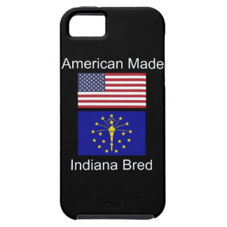"""American Born..Indiana Bred"" Flags and Patriotism iPhone 5 Covers"