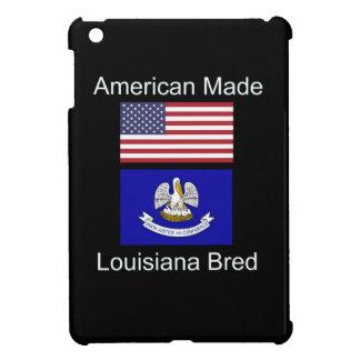 """American Born..Louisiana Bred"" Flag Design Cover For The iPad Mini"