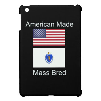 """American Born..Massachusetts Bred"" Flag Design Cover For The iPad Mini"