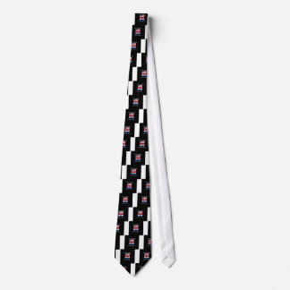 """American Born..Missouri Bred"" Flag Design Tie"