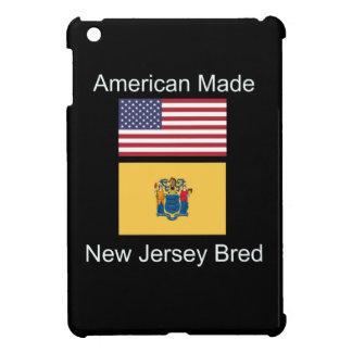 """""""American Born..New Jersey Bred"""" Flag Design iPad Mini Cover"""