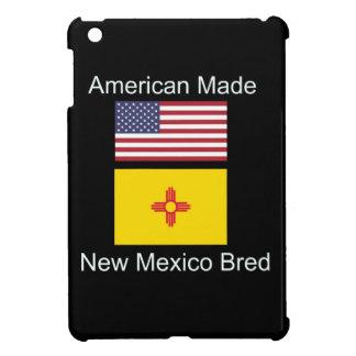 """""""American Born..New Mexico Bred"""" Flag Design iPad Mini Cover"""