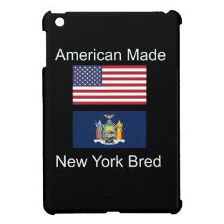 """""""American Born..New York Bred"""" Flag Design iPad Mini Case"""