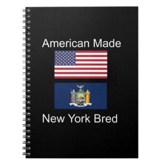 """American Born..New York Bred"" Flag Design Notebook"