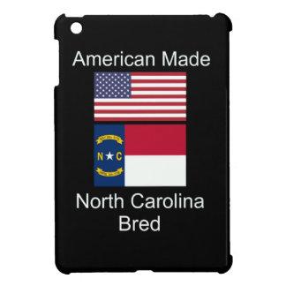 """""""American Born..North Carolina Bred"""" Flag Design iPad Mini Cases"""