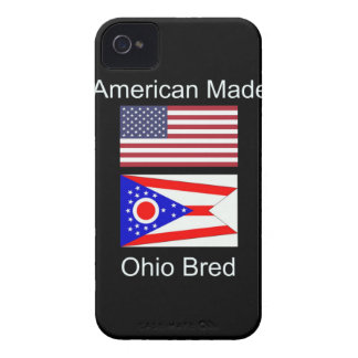"""American Born..Ohio Bred"" Flags and Patriotism iPhone 4 Covers"