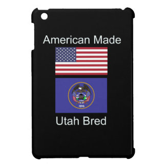 """American Born..Utah Bred"" Flags and Patriotism iPad Mini Cases"