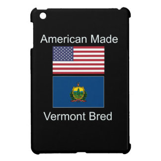 """American Born..Vermont Bred"" Flags and Patriotism iPad Mini Cases"