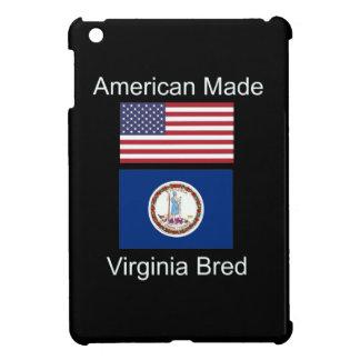 """""""American Born..Virginia Bred"""" Flag Design Cover For The iPad Mini"""