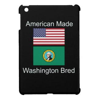 """American Born..Washington Bred"" Flag Design iPad Mini Cases"