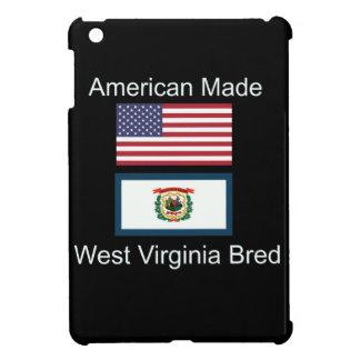 """American Born..West Virginia Bred"" Flag Design Cover For The iPad Mini"