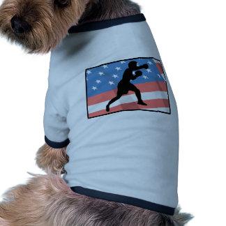 American Boxing Pet Clothes