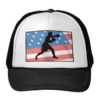 American Boxing Trucker Hats
