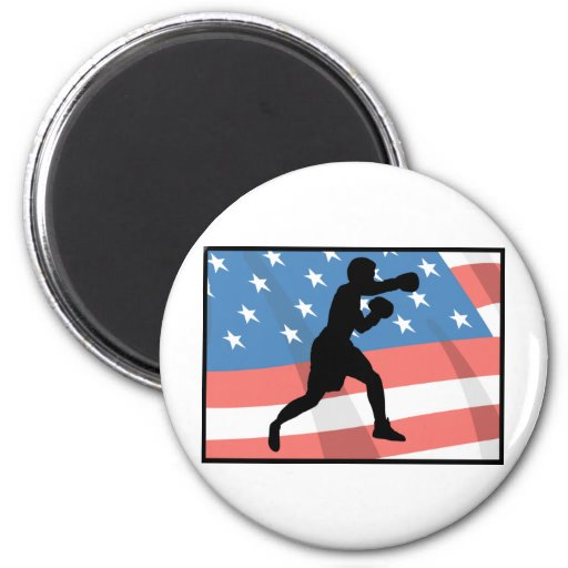 American Boxing Refrigerator Magnets