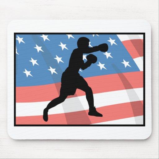American Boxing Mousepads
