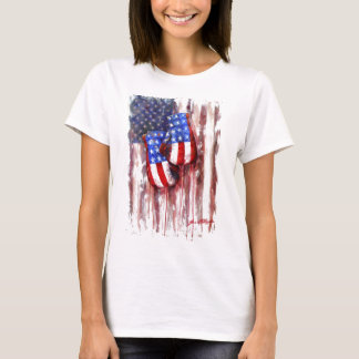 American Boxing Woman T-Shirt