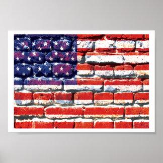 american brick poster