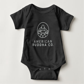 American Buddha Co. BlackOut Baby Bodysuit