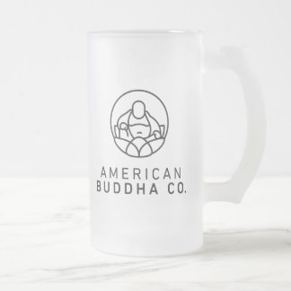 American Buddha Co. Original Frosted 16oz Beer Mug