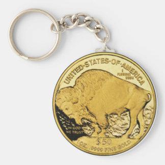 """American Buffalo 2006 Proof-US Treasury Coin"" Keychain"