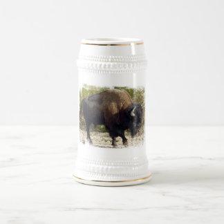 American Buffalo Beer Stein