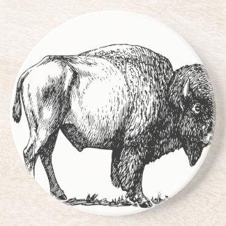 American Buffalo Bison Coaster