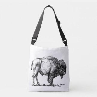 American Buffalo Bison Crossbody Bag