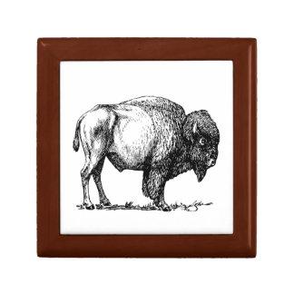American Buffalo Bison Gift Box