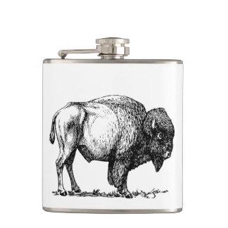 American Buffalo Bison Hip Flask
