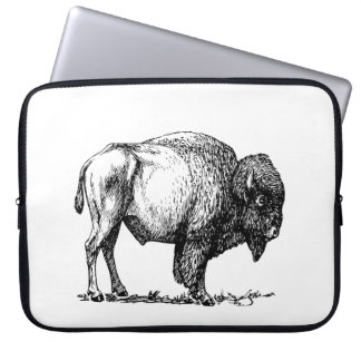 American Buffalo Bison Laptop Sleeve