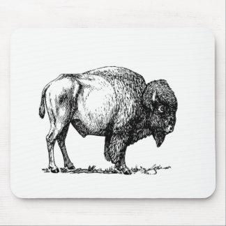 American Buffalo Bison Mouse Pad