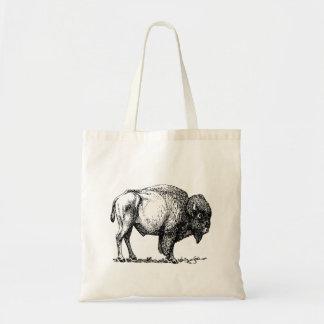American Buffalo Bison Tote Bag