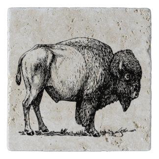 American Buffalo Bison Trivet