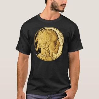 American Buffalo Gold Bullion Coin Mens Dark Tee