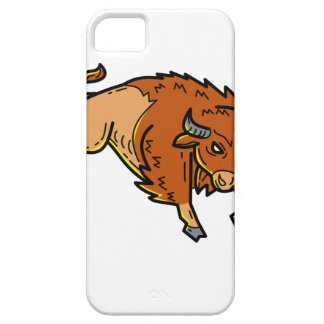 American Buffalo Jumping Mono Line Case For The iPhone 5